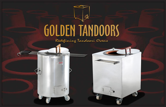 Golden Tandoor Charcoal & Electric Ovens
