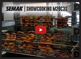 Semak Showcooking Charcoal Rotisserie