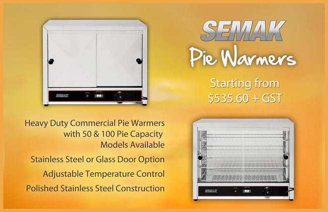Semak Pie Warmer Range