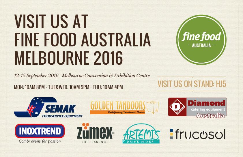 Visit Us at Fine Food Melbourne 2016