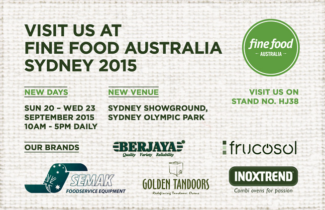 Join Us at Fine Food 2015 Sydney