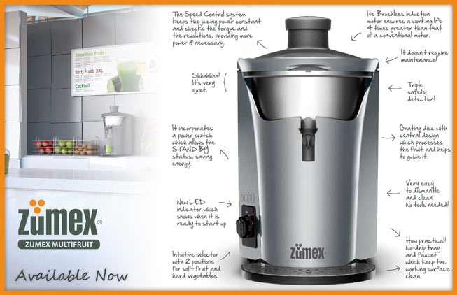 Zumex Multipress Juicer